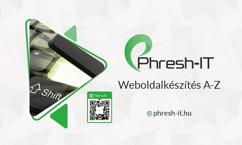 Phresh-IT_névjegykártya