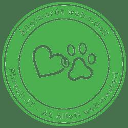 Állatbarát weboldal készítés logo
