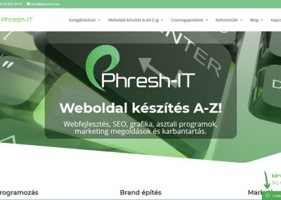 Phresh-IT - archive 6 - WP-start